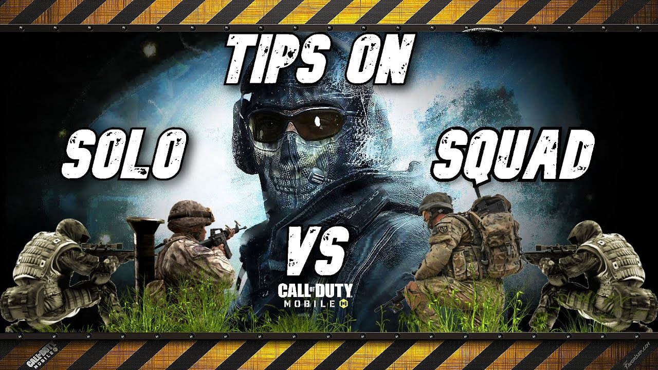 How I survive in Solo vs Squad - Call of Duty Mobile - Battle Royale - Tips & Tricks