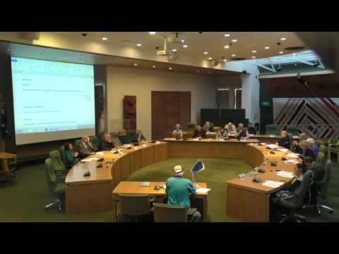 SP&F Solid Waste Bylaw Hearings and Deliberations - 18 August 2016