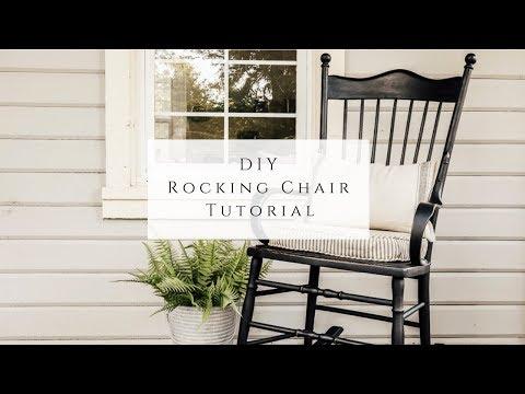DIY Rocking Chair Tutorial