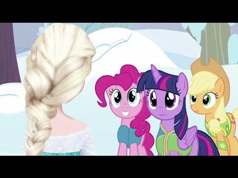 Elsa meets My Little Pony