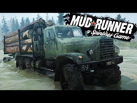 DRIVING The ULTIMATE MUD TRUCKS! BOGGING, ROCK CRAWLING + FAILS! - NEW Spintires: MudRunner Gameplay
