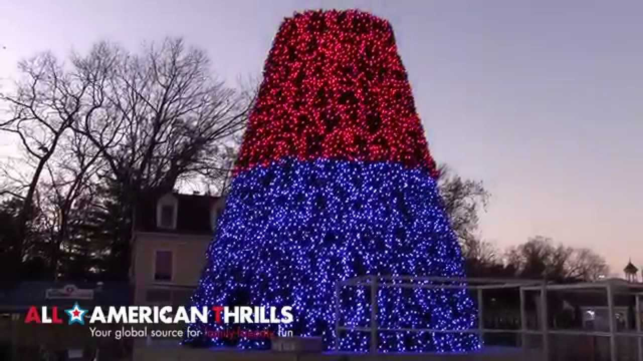 Holiday In The Park at Six Flags Great Adventure Progress Report ...