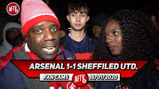 Arsenal 1-1 Sheffield Utd. | Martinelli, Saka & Maitland-Niles Did Well! (Belgium)