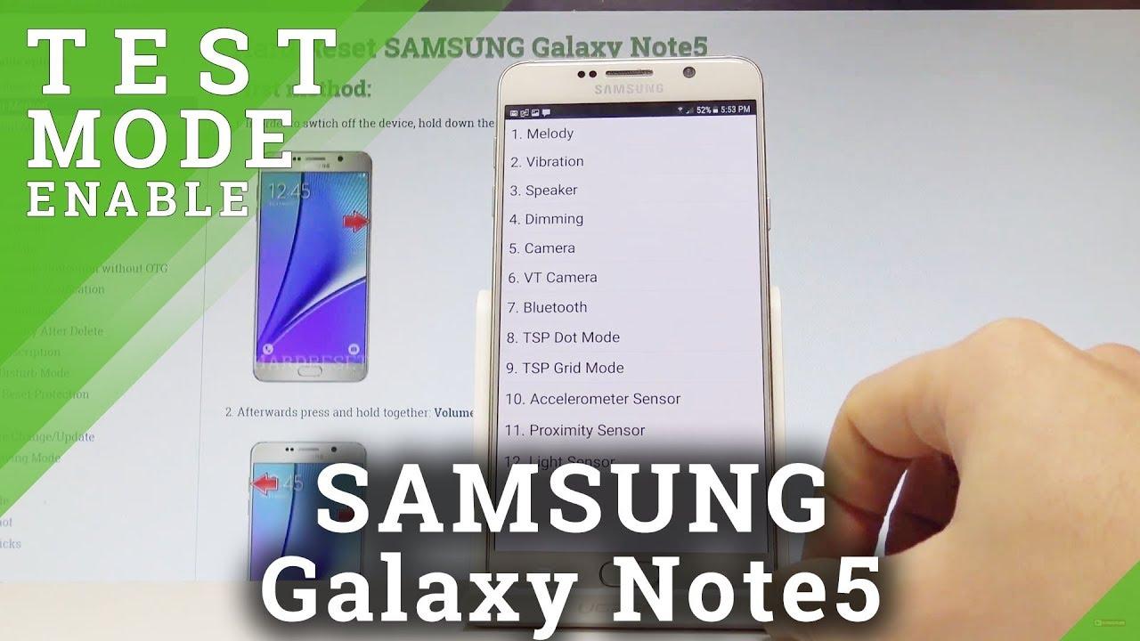 Codes SAMSUNG N920V Galaxy Note5 CDMA - HardReset info