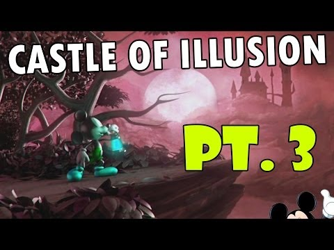 Let's Play: Castle of Illusion starring Mickey Mouse' pt. 3 (The Storm + Boss Fight) iOS Gameplay