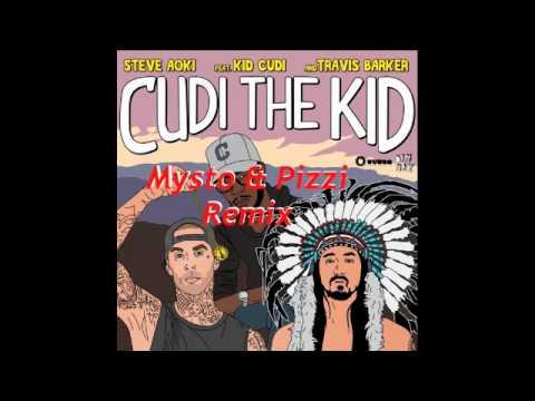 """Steve Aoki Feat. Kid Cudi & Travis Barker """"Cudi The Kid"""" (Mysto & Pizzi Remix)"""