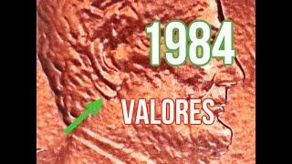 1984 Doble Acuñamiento Oido / hasta $3,910.