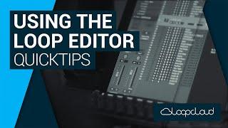 How to Chop Up Loops in the Loop Editor | Loopcloud Quick Tip Tutorial