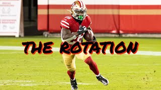 The 49ers Running Back Rotation while Raheem Mostert is Out
