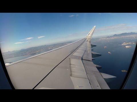 TAM Airbus A321 Sharklets Galeão - Guarulhos [Voo Completo]