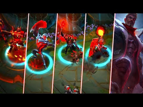 6 NEW SKINS - BATTLECAST NASUS & ZAC, RESISTANCE JAYCE, YORICK, SINGED, VICTORIOUS LUCIAN