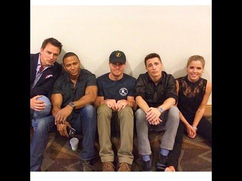 Stephen Amell & The Arrow Cast Humor