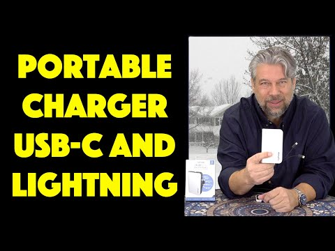 MyCharge HubMax Universal USB-C & Lightning Portable Charger - REVIEW
