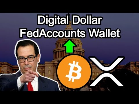 NEW DIGITAL DOLLAR BILL INTRODUCED - FEDACCOUNTS Wallet - Crypto Exposure To Masses