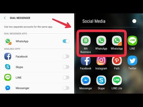 Cara Clone Dual WhatsApp Samsung Experience Version 9 0 (Oreo) di Galaxy S8