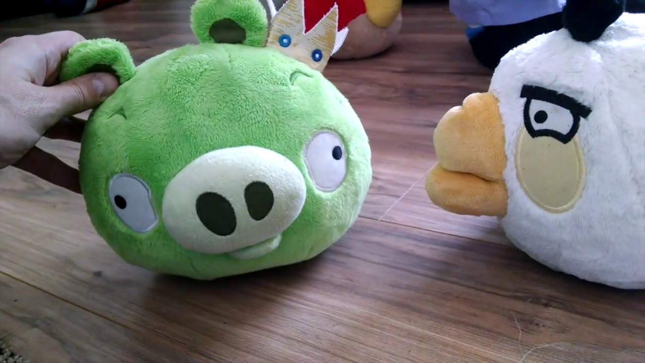 Angry Birds Stuffed Animals Toys Bad Piggies Playtime Everything