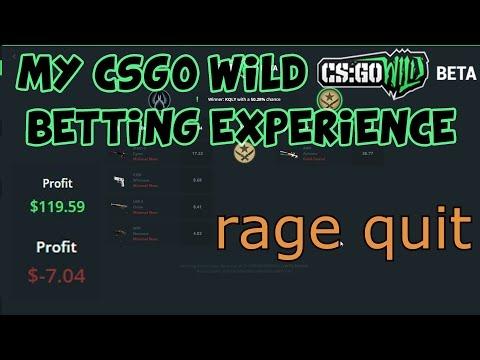 My CSGO Wild Betting Experience