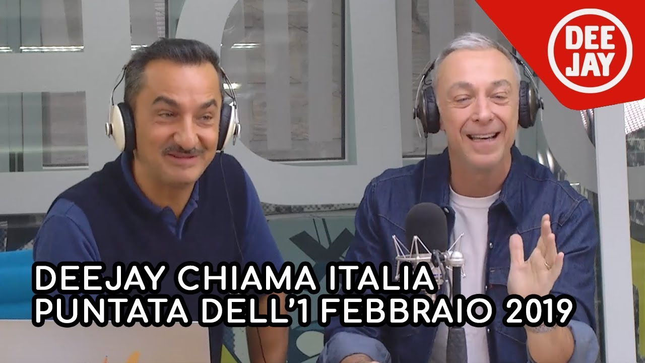 puntate deejay chiama italia