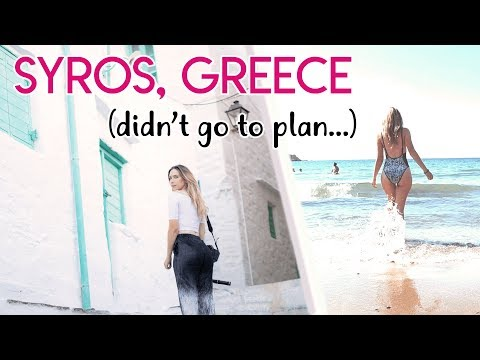 Syros Island Travel Diary | Island Hopping In Greece 2018!