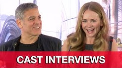 TOMORROWLAND Cast Interviews