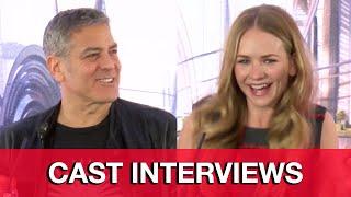 TOMORROWLAND Cast Interviews