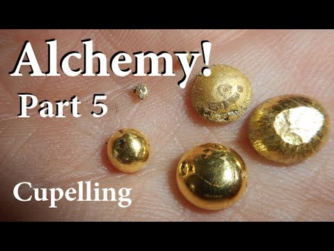 Alchemy! Part 5 -  Cupelling (recovering the gold)