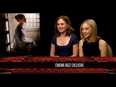 "Sarah Gadon & Anna Paquin Interview for ""Alias Grace"""