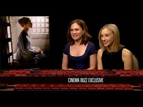 "Sarah Gadon & Anna Paquin Interview for ""Alias Grace"""