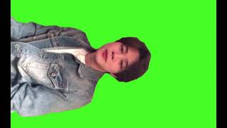 Green screen Park Jimin Bts
