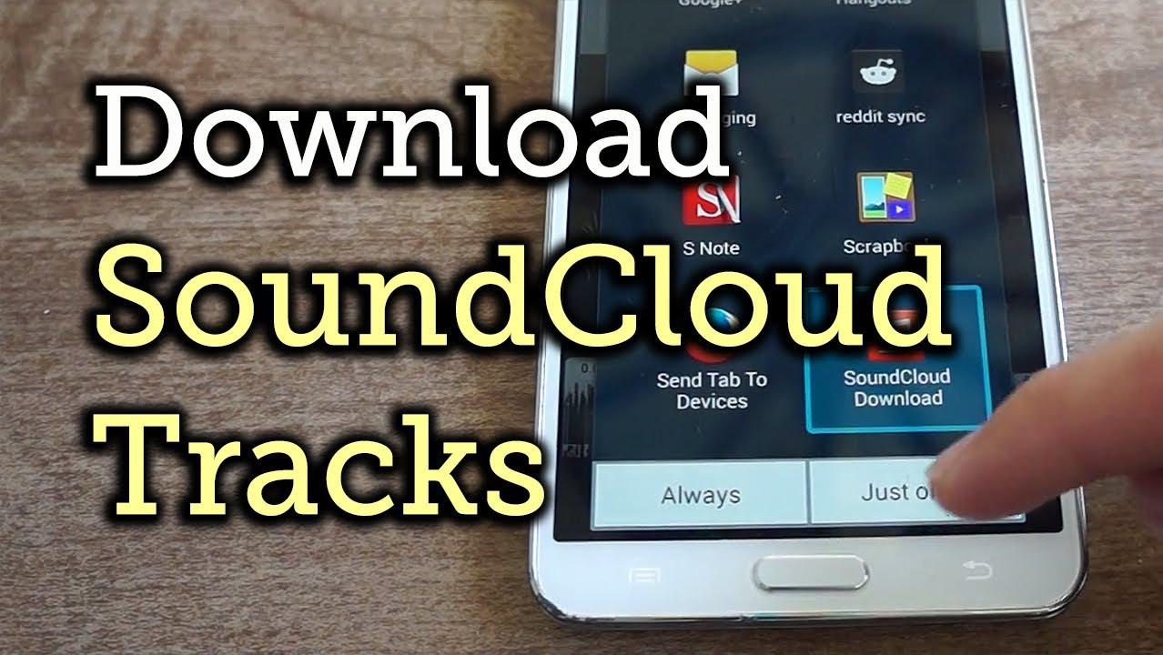 How to Download SoundCloud Tracks for Offline Playback on