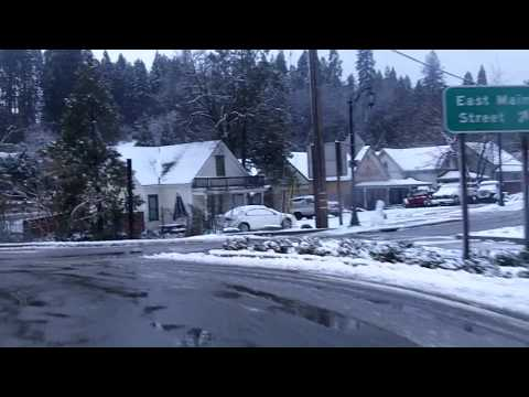 My morning drive through Grass Valley to Nevada City