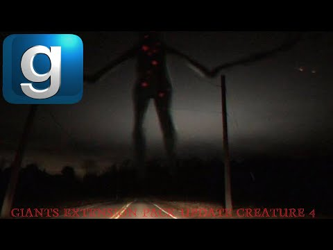 Download **NEW** GMod Trevor Henderson Giants Extension Pack Update Creature: The Giant With Red Dots.