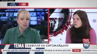 Евромайдно: свободовцы с нардепом избили и ограбили волонтеров с деньгами для онкобольных(, 2014-01-07T21:30:25.000Z)