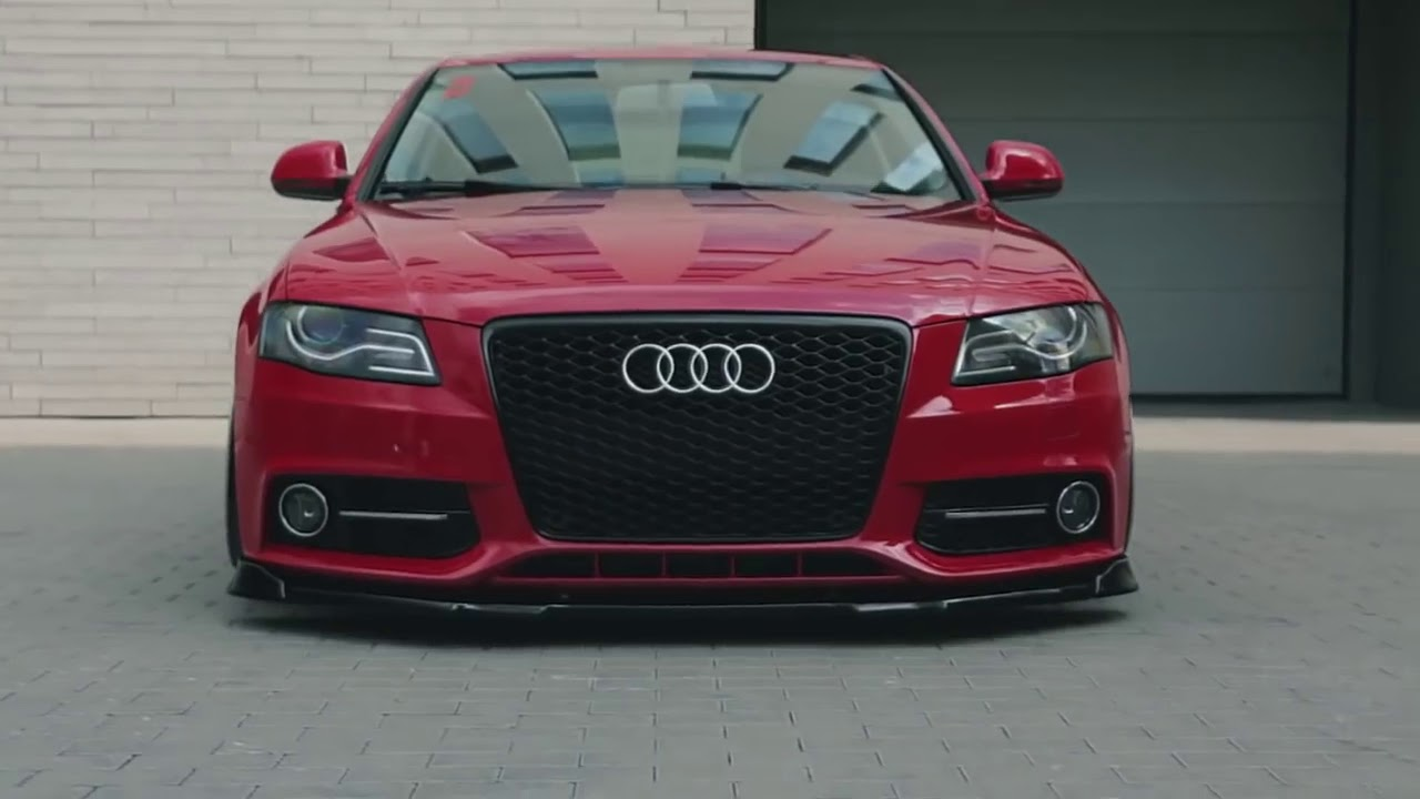 audi a4 b8 stanced with vossen wheels youtube. Black Bedroom Furniture Sets. Home Design Ideas
