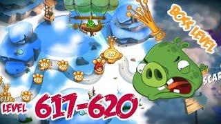 Angry Birds 2 Cobalt Plateaus The Hamalayas – LEVEL 617–620 BOSS LEVEL KING PIG