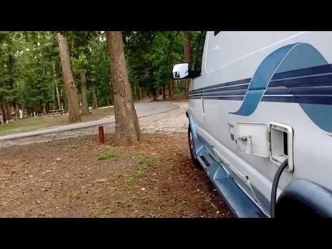 Heading North: Camping at Colleton State Park Walterboro SC