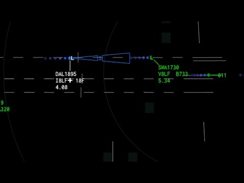 Air Traffic Control Simulator - Atlanta Approach - ATCpro Sim