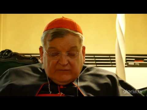 Gloria tv Interview with Cardinal Burke Amoris Laetitia produces confusion KrsdoxSCQ31