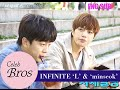 "Download INFINITE L & Minseok, Celeb Bros S6 EP1 ""Descedents of The Sun"""