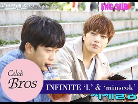 INFINITE L & Minseok, Celeb Bros S6 EP1