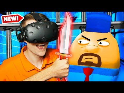 Crafting A SECRET KNIFE In Virtual Reality PRISON (Prison Boss VR Funny Gameplay)