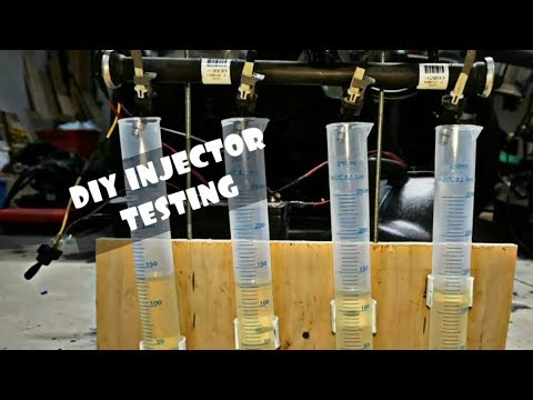 DIY FUEL INJECTOR FLOW BENCH FOR DECAPPED LS LSX INJECTORS!!!