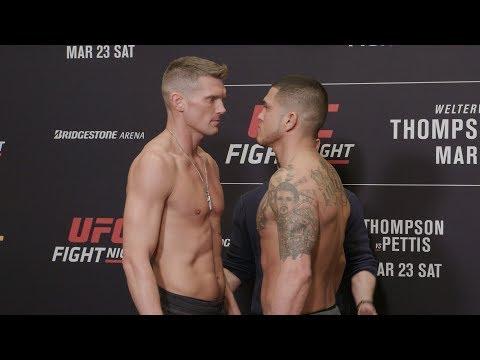 UFC Nashville: Weigh-in Faceoffs