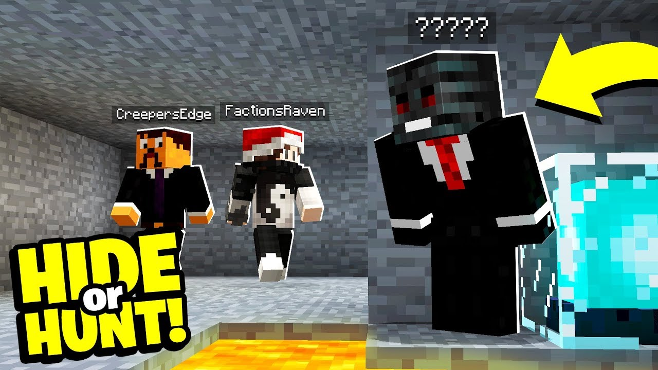 Download SOMEONE is HIDING in our SECRET Minecraft base! - Hide Or Hunt #5