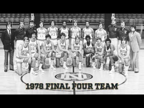 @NDmbb | 40th Anniversary: 1978 Final Four Team (2018)