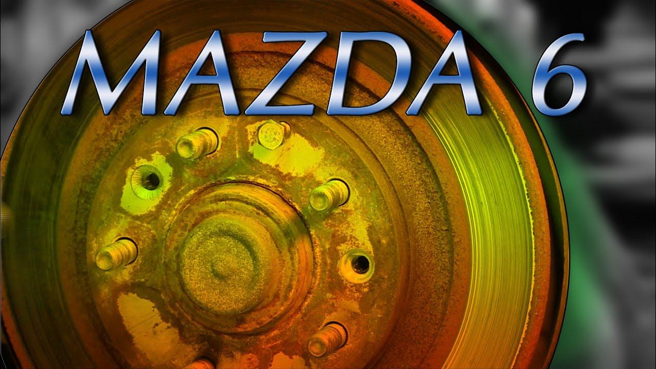 * MAZDA 6 *( BREMSEN HINTEN WECHSELN ) erneuern,ersetzen ...