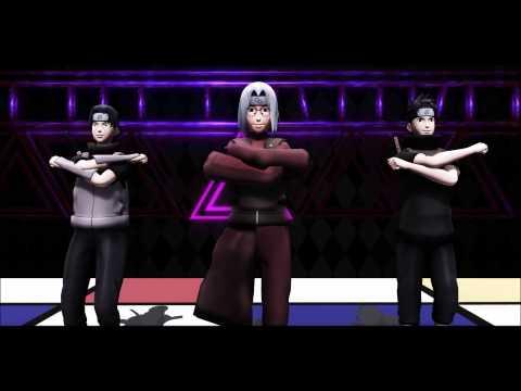 [MMD NARUTO] ECHO Kabuto, Itachi And Shisui
