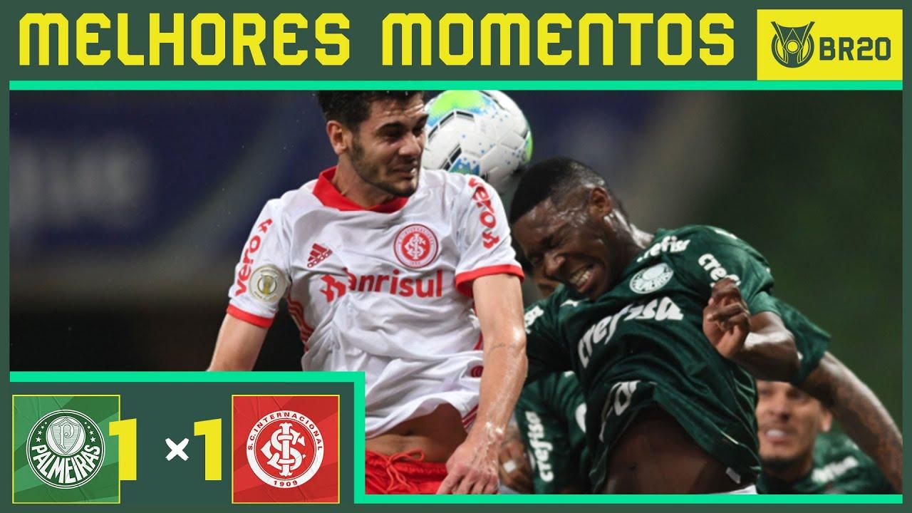Palmeiras 1x1 Internacional Melhores Momentos Brasileirao 2020 02 09 Youtube