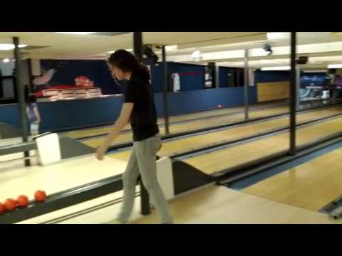 Candle pin bowling in Needham,  Massachusetts.