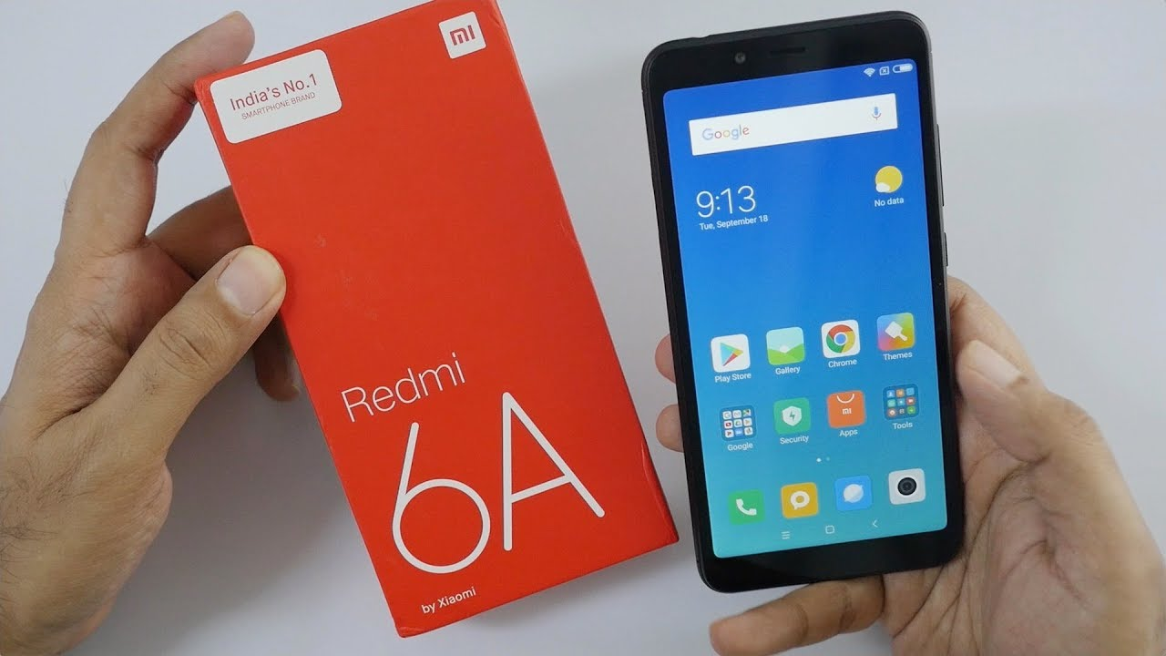 Redmi 6A Budget ₹6k Smartphone Unboxing & Overview